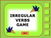 English powerpoint: Irregular verbs game 1/11