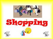 English powerpoint: shopping