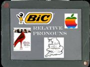 English powerpoint: Relative pronouns: Who  Which  Where
