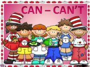 English powerpoint: CAN - CAN´T GAME  1 (ANIMATED) modals 1st part
