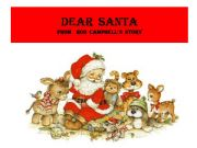 English powerpoint: DEAR  SANTA  from Rod Campbell ´ storybook