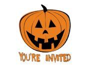 English powerpoint: Halloween invitation card