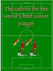 English powerpoint: Searching for the best soccer player in the world - Mini Project