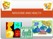 English powerpoint: Medicine and Health