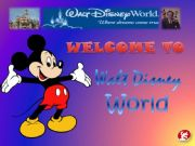 English powerpoint: Walt Disney World
