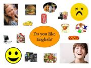 English powerpoint: Present simple - Likes and dislikes