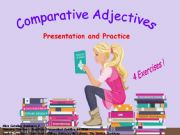 English powerpoint: Comparatives + 4 exercises!!