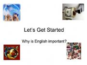 English powerpoint: why is english important ?