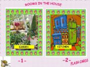 English powerpoint: Rooms in the House - Flashcards