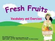 English powerpoint: Fresh Fruits