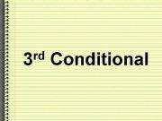 English powerpoint: 3rd Conditional
