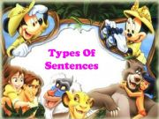 English powerpoint: Types of Sentences