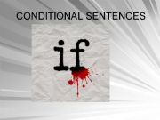 English powerpoint: Conditionals