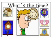 English powerpoint: What´s the time?
