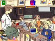 English powerpoint: Hidden School Stationery