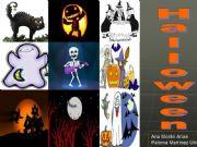 English powerpoint: Halloween game