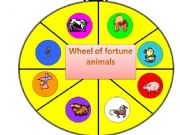 English powerpoint: wheel of fortune