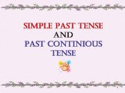 English powerpoint: SIMPLE PAST TENSE AND PAST CONTINUOUS TENSE