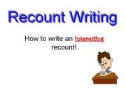 Creative writing powerpoint