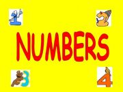 English powerpoint: Numbers 1-10 powerpoint presentation for very young learners