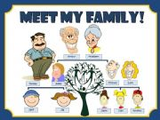 English powerpoint: MEET MY FAMILY!