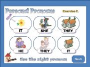 English powerpoint: Personal Pronouns 2 / 2