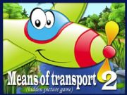 English powerpoint: Means of Transport - Hidden Picture Game PART 2 (2)