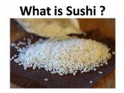 English powerpoint: Sushi Types Quiz
