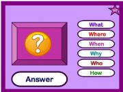 English powerpoint: WH questions