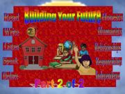 English powerpoint: Building your future 2 of 2 ( ANIMATED )