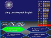 English powerpoint: Passive Voice : Who wants to be a millionaire