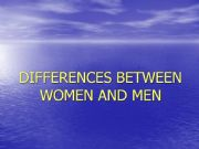 English powerpoint: Comparing women and men