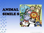 English powerpoint: animal similes
