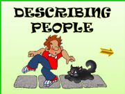 English powerpoint: DESCRIPTION OF APPEARANCE and PERSONALITY