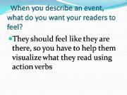 English powerpoint:  writing