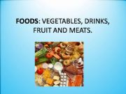 English powerpoint: Foods