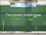 English powerpoint: The Present Simple Tense
