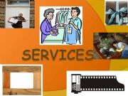 English powerpoint: SERVICES -