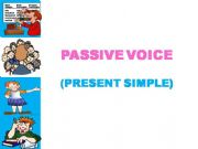 English powerpoint: The passive voice - step by step