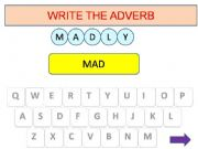 English powerpoint: Adverbs game part 2