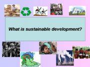 English powerpoint: sustainable development