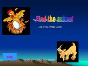 English powerpoint: Find the Animal Game