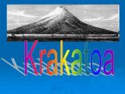 English powerpoint: krakatoa
