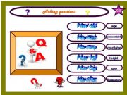 English powerpoint: Asking questions( ANIMATED PICTURES)