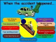 English powerpoint: PAST CONTINUOUS TENSE/game as a post activity(part2)