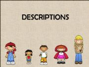 English powerpoint: Physical descriptions. Appearance & Personality