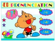 English powerpoint: ED  PRONUNCIATION- GAME
