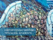 English powerpoint: History Essay Writing Tips for ESL/EFL students