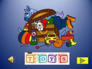English powerpoint: Toys activity with images, sounds and music