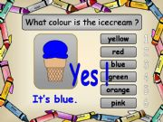 English powerpoint: Game Recognizing Names of Colours